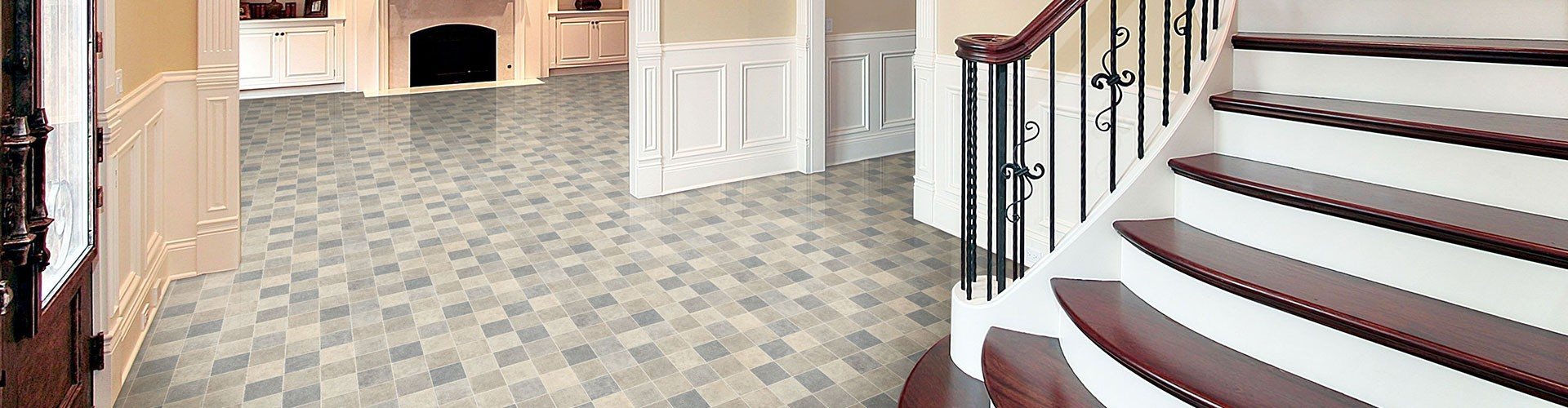 Tough Vinyl Flooring